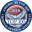Top 100 Criminal Defense Attorney Award