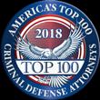 Top 100 Criminal Defense Attorney Award
