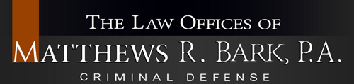 The Law Offices of Matthews R. Bark, P.A. Criminal Defense Logo