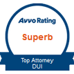 top attorney dui emblem from Avvo