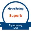 top attorney dui emblem from Avvo