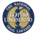 Emblem of the Top 40 Under 40 Trial Lawyers in the Nation